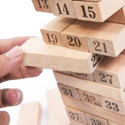 Bộ đồ chơi rút gỗ 48 miếng hấp dẫn